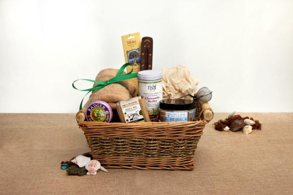 Baby Gifts Yoga : Organic yoga gift basket lotus pose ecochicgiftbaskets