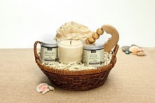 Good Karma Organic Spa Gift Basket