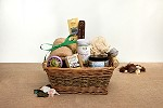 Lotus Pose Organic Yoga Basket