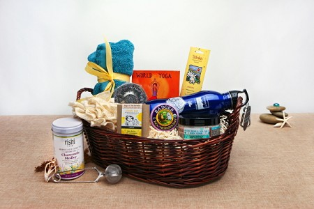 Warrior II Organic Yoga Basket